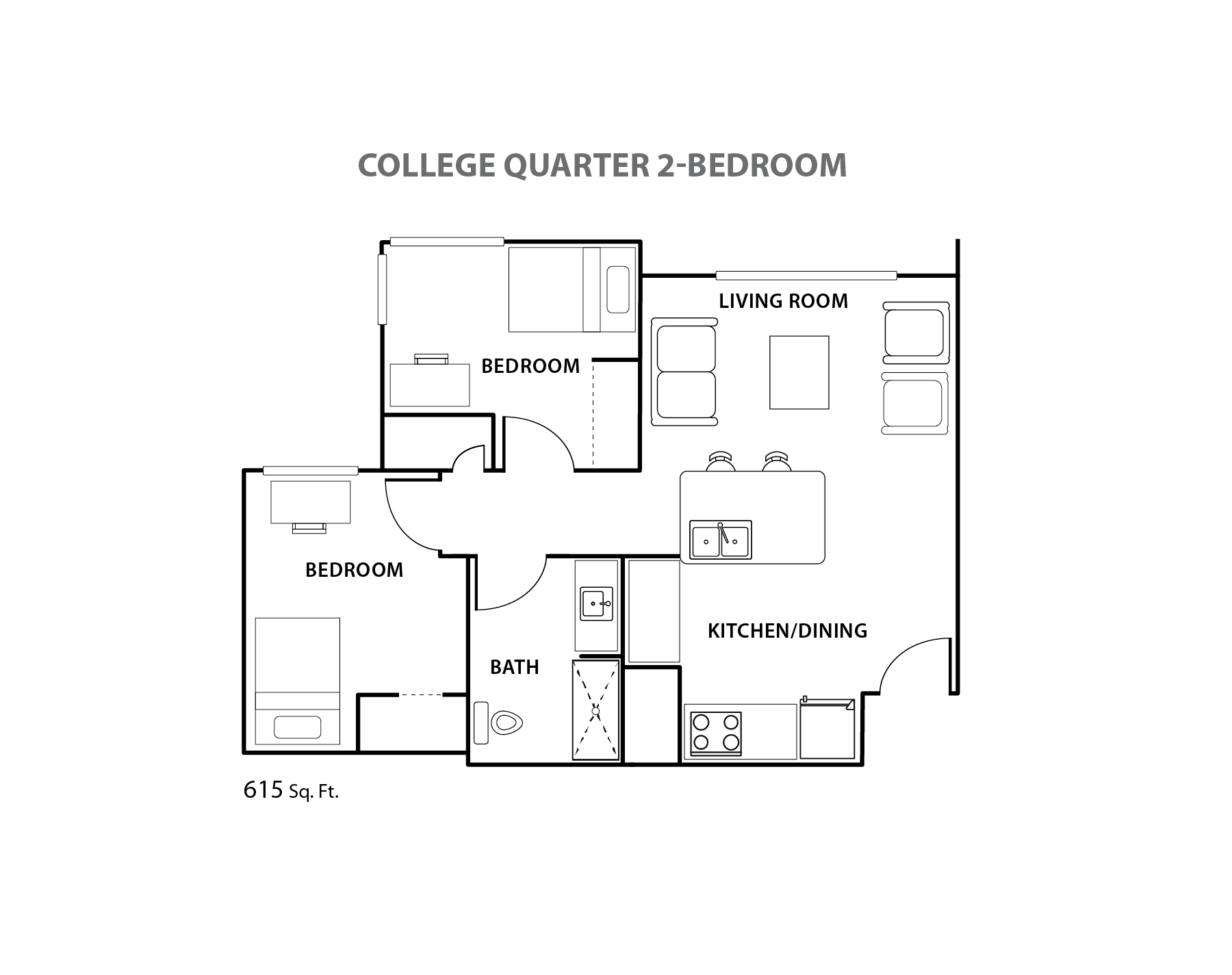 Cq two bedroom