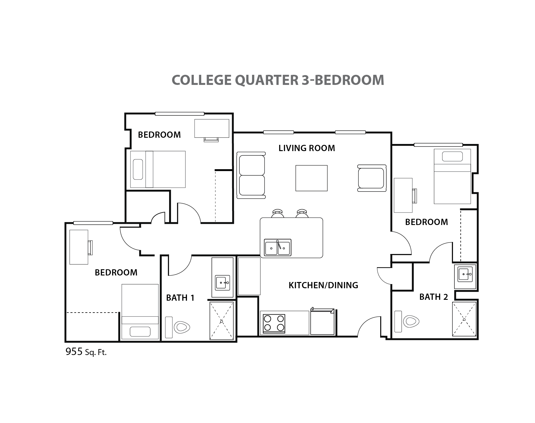 Cq three bedroom