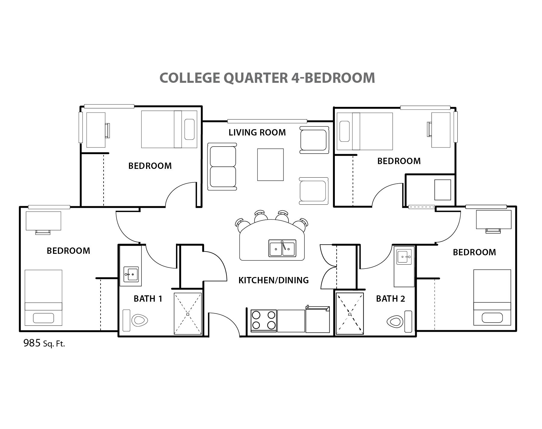 College Quarter Br